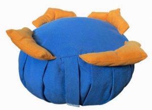 Zafu Eco Espelta para niños azul