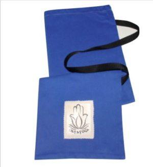 bolsa para esterilla de yoga azul