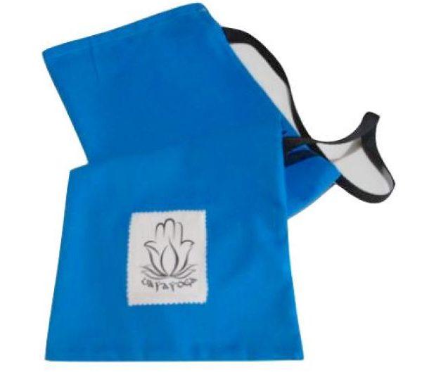 Bolsa para esterilla de yoga azul cielo
