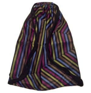 Mochila para yoga con rayas de colores